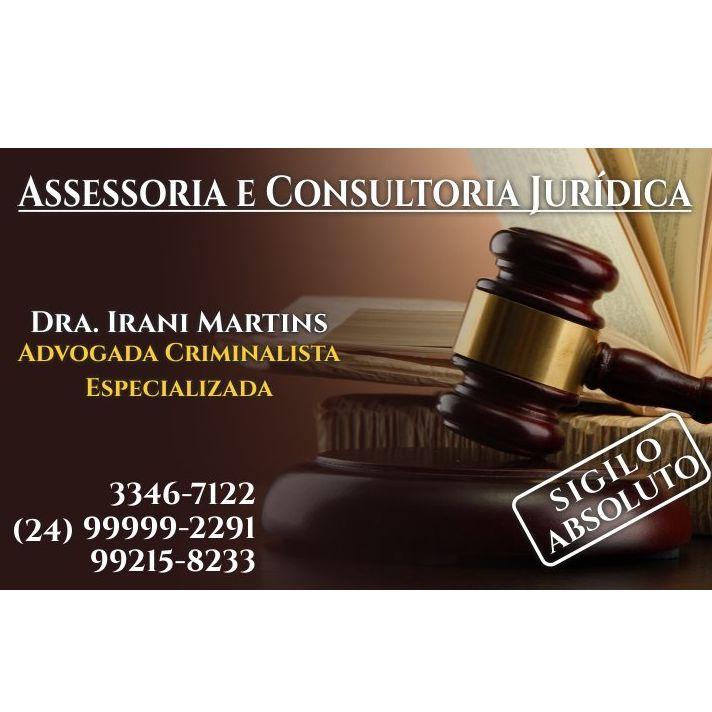 Dra Irani Martins Advogada Criminalista Especializada