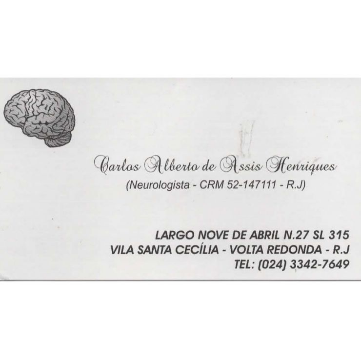 Dr. Carlos Henrique - Neurologista